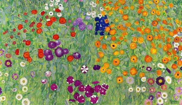 Klimtin Çiçek Bahçesi rekor fiyata satıldı