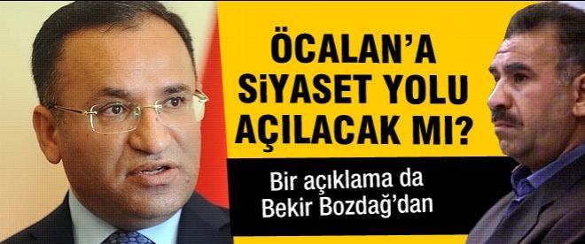 Öcalan'a siyaset yolu açılacak mı?