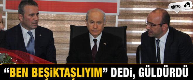 'Ben Beşiktaşlıyım' dedi, güldürdü