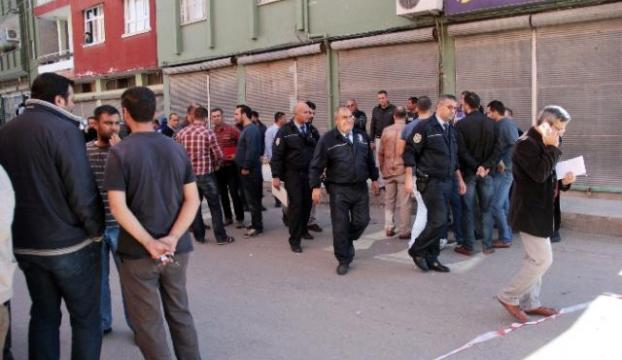 Berber dükkanına silahlı saldırı