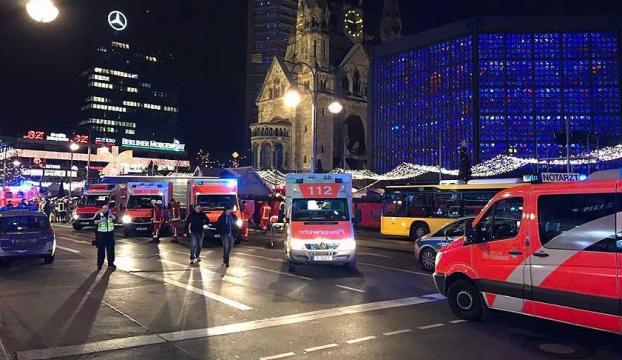 Berlinde kamyonlu saldırıda 12 ölü 48 yaralı
