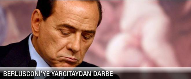 Berlusconi'ye 'yargıtay' darbesi