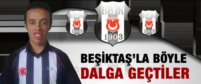 Beşiktaş'la böyle dalga geçtiler
