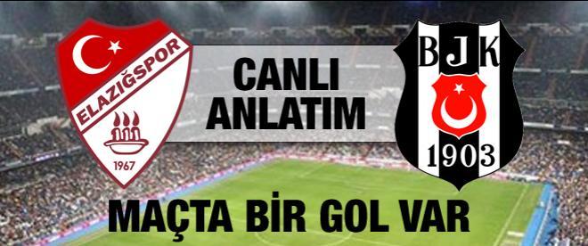 Elağızspor - Beşiktaş maçı canlı anlatım