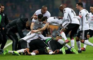 Derbinin galibi Beşiktaş oldu