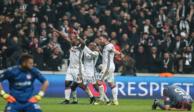 Beşiktaş, 14 sezon sonra çeyrek finalde