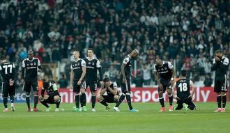 Beşiktaş, penaltılarda Avrupa'ya veda etti