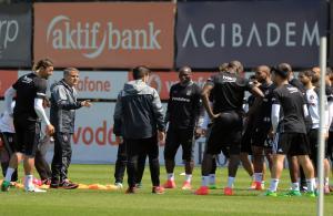 Beşiktaş'ta Medipol Başakşehir maçı hazırlıkları