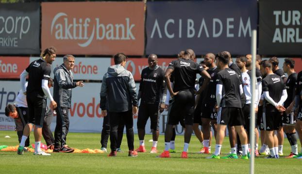 Beşiktaşta Medipol Başakşehir maçı hazırlıkları