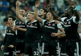 Beşiktaş şampiyonluk yolundaki avantajını sürdürdü