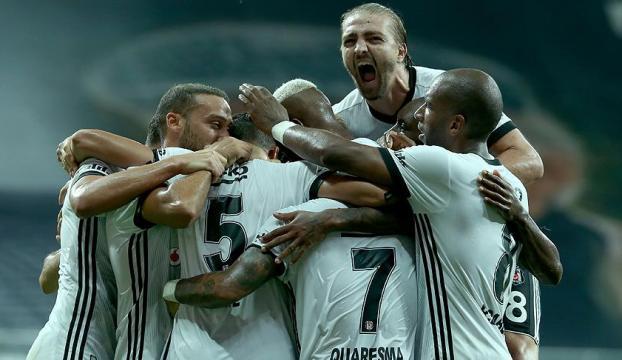 Beşiktaş, yedekleriyle de farklı