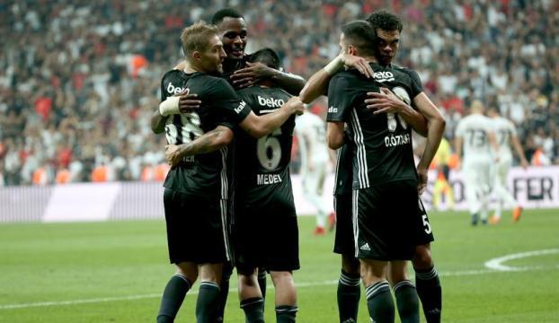Beşiktaş Partizanı 3 golle geçti
