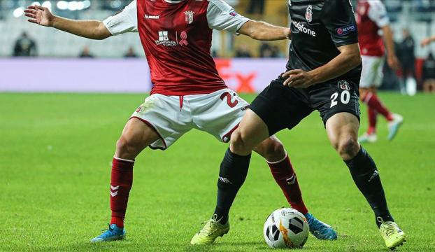 Beşiktaş deplasmanda Braga ile karşılaşacak