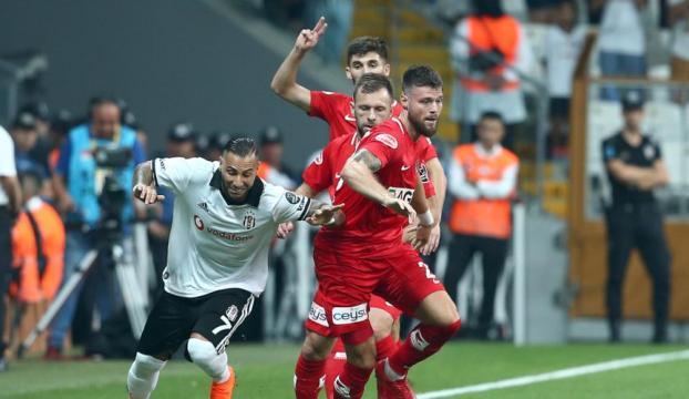 Beşiktaş evinde Antalyaspora teslim oldu