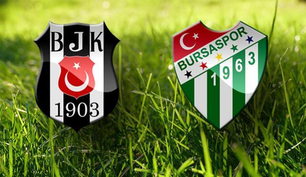 Beşiktaş Bursayı 2-1le geçti