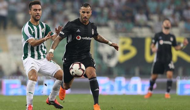 Beşiktaş Bursadan 1 puanla ayrıldı