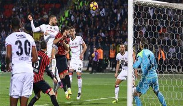 """""""Beşiktaş maçında şanssızlık ağır bastı"""""""