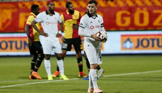 Göztepe, Beşiktaşı puansız uğurladı