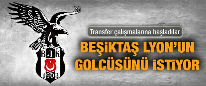 Beşiktaş Lyon'un golcüsünü istiyor
