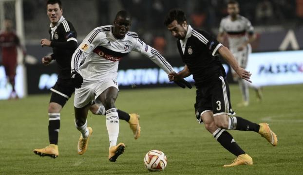 Beşiktaş deplasmanda doludizgin