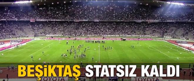 Beşiktaş statsız kaldı
