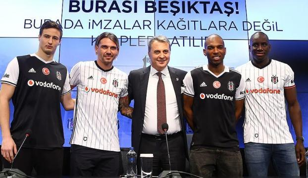 İşte Beşiktaşın yeni transferleri