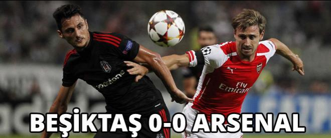 Beşiktaş 0-0 Arsenal