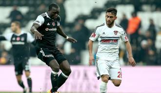 Beşiktaş Osmanlıspor'u kayıpsız geçti