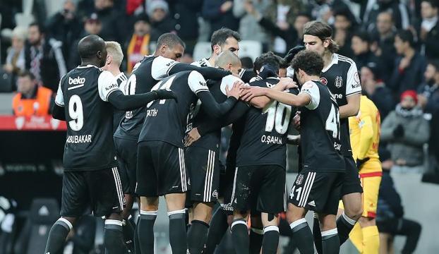 Beşiktaş, Vodafone Arenada hiç yenilmedi