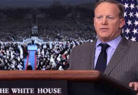 Beyaz Saray'ın yeni Sözcüsü ilk kez basın önüne çıktı