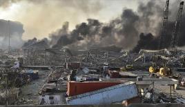 Beyrut'taki patlamada 2 bin 750 ton amonyum nitrat infilak etti