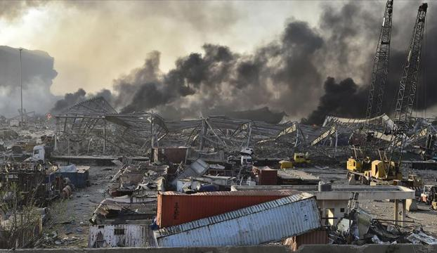 """Lübnan Hizbullahından Beyruttaki patlama sonrası """"dayanışma"""" çağrısı"""
