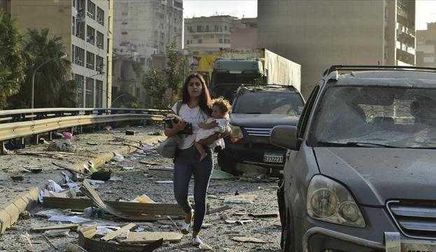 Lübnan'ın başkenti Beyrut'ta 2 hafta olağanüstü hal ilan edildi