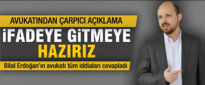 Bilal Erdoğan'ın avukatından açıklama
