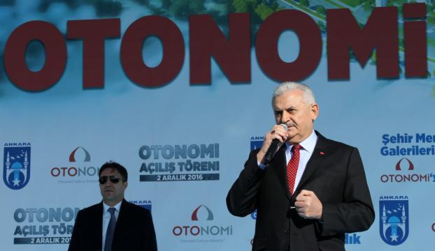Başbakan Yıldırım Otonomi açılış töreninde