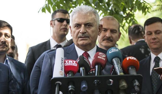 Başbakan Yıldırım: Biz Irakın toprak bütünlüğünü istiyoruz