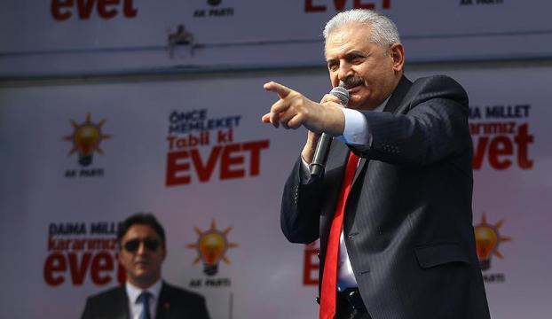 Yıldırım: Anayasa değişikliği Erdoğan için değil, her doğan içindir