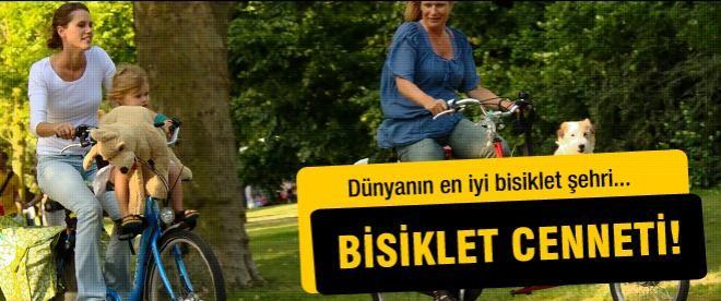 Amsterdam dünyanın en iyi bisiklet şehri