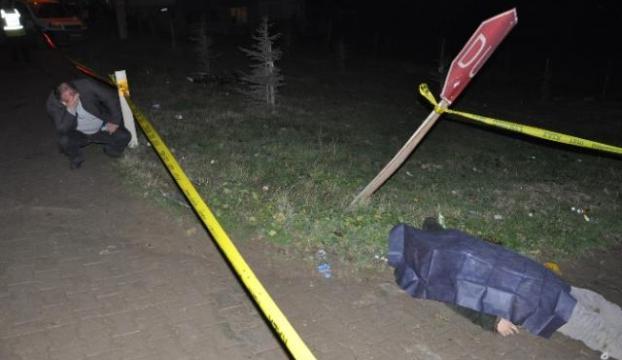Bisiklet sürücüsü hayatını kaybetti