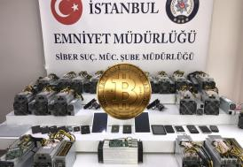 İstanbul'da Bitcoin gaspçılarına siber operasyon