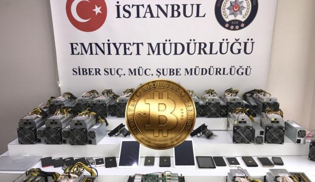 İstanbulda Bitcoin gaspçılarına siber operasyon