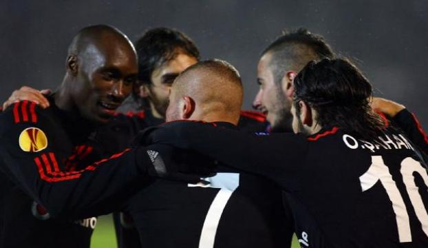 Partizan - Beşiktaş: 0 - 4
