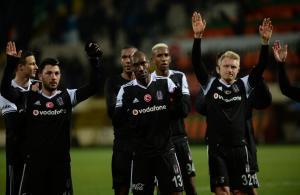 Beşiktaş Alanya'da liderliği aldı! 4-1