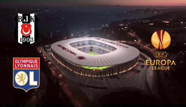 Beşiktaş - Olympique Lyon karşılaşacak
