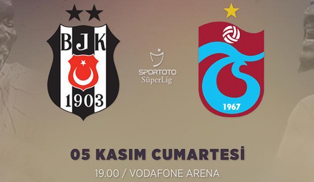 Beşiktaş ile Trabzonspor 123. randevuda