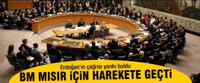 BM Mısır için acil toplanma kararı aldı!