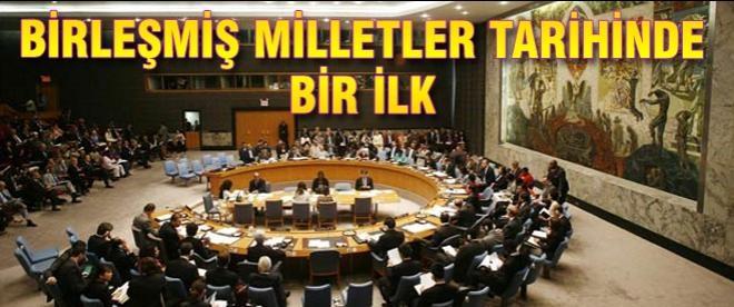 BM tarihinde bir ilk