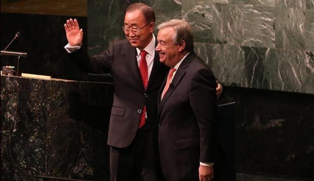 BMde yeni dönem: Yeni Genel Sekreter göreve başladı