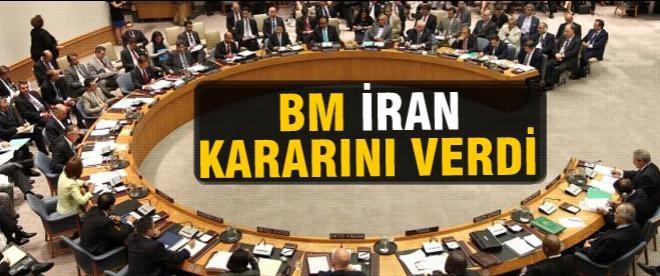 BM İran kararını verdi