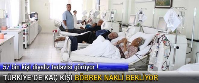 Türkiye'de kaç kişi böbrek nakli bekliyor